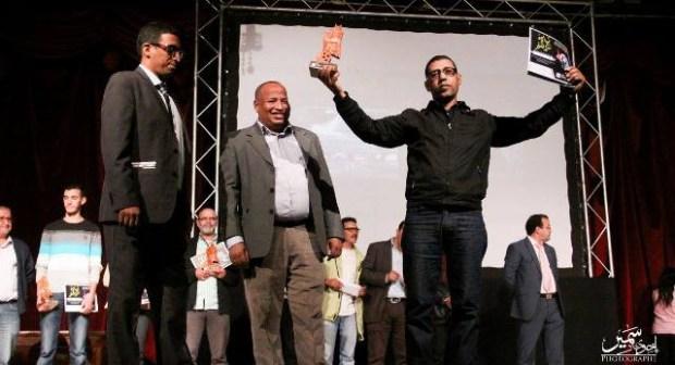 """فيلم """"نكهة التفاحة"""" يتوج بالجائزة الكبرى لفعاليات الدورة الثانية لملتقى القصبة للفيلم القصير بورزازات"""