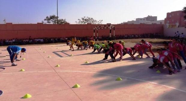 إحداث أول مركز رياضي مدرسي وفق التدابير ذات الأولوية بنيابة إنزكان أيت ملول