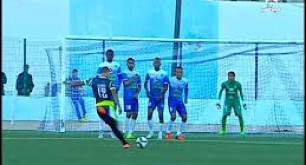 هدف أكثر من رائع من كرة ثابتة للمغرب التطواني على طريقة كريستيانو رونالدو