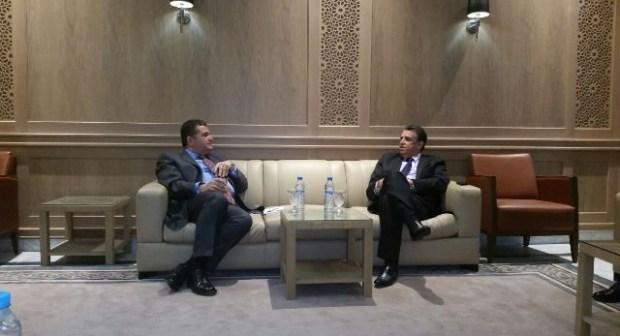 عبد اللطيف وهبي يلتقي السفير التركي بالرباط