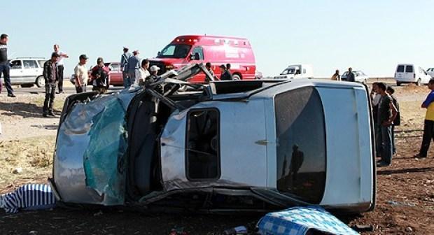 مقتل أربعة أفراد من أسرة واحدة وإصابة الخامس بجروح خطيرة في حادثة سير بإقليم جرسيف