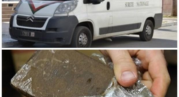 أمن أنزا يوقف شابا يبلغ من العمر 18 سنة بتهمة الاتجار في المخدرات