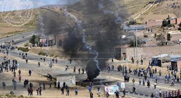 بوليفيا… مقتل نائب وزير الداخلية إثر مواجهات عنيفة بين الأمن وعمال المناجم والتعدين المضربين