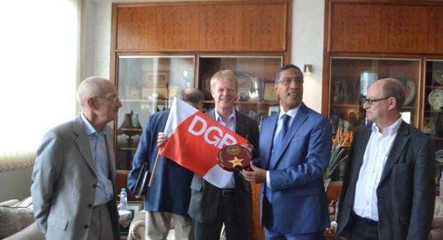 الاتحاد المغربي للشغل يستقبل وفدا ألمانيا
