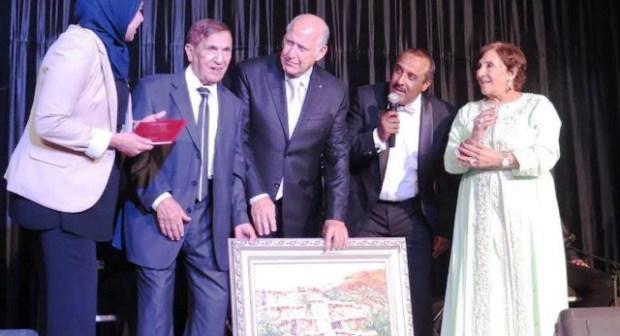 """الدورة الثالثة لـ""""ليلة نجوم الشاشة"""" سعيد الناصري يهدي شقتين لسلوى الجوهري وعبد الرحمن برادي"""