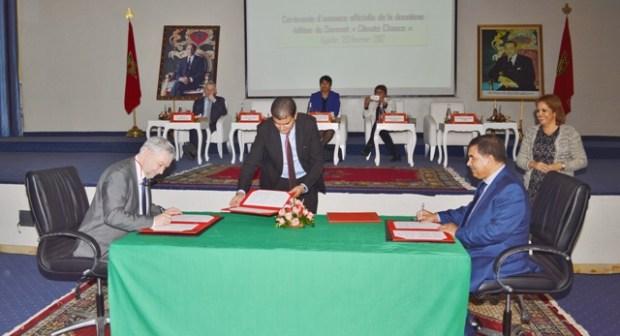 الإعلان الرسمي عن تنظيم الدورة الثانية من قمة  « Climate chance » بأكادير