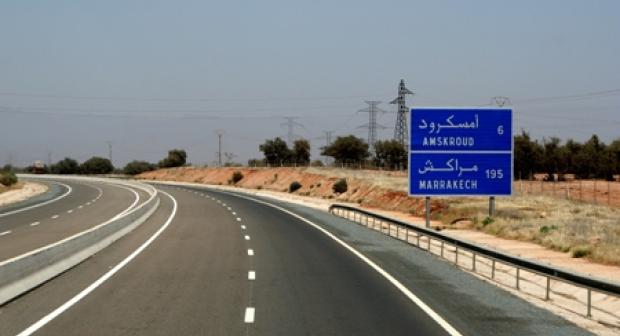 الطريق السيار أكادير مراكش بالمجان اليوم وغدا