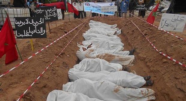 فيديو: هددوا بإحراق أجسادهم و حفروا القبور لأنفسهم شاهد معاناة تجار سوق البلاستيك الفلاحي بإنزكان