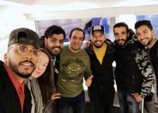 حاتم عمور في ديو غنائي مع مجموعة أدرينالين