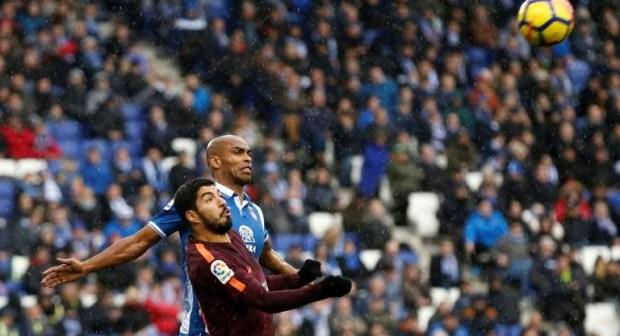 بطولة اسبانيا: بيكيه يجنب برشلونة الخسارة الاولى هذا الموسم