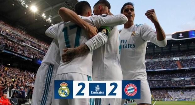 ريال مدريد إلى نهائي دوري أبطال أوروبا للمرة الثالثة على التوالي