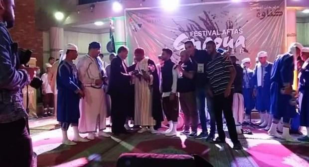 مهرجان افتاس كناوة اورير في دورته الأولى
