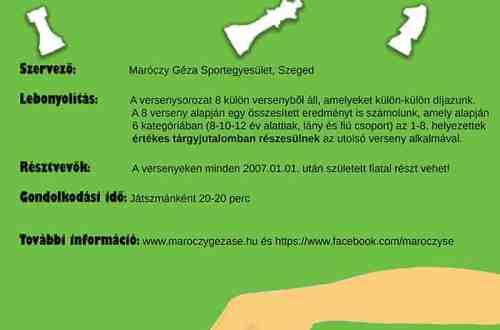 Maróczy SE plakát Gyerek bajnokság