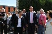Inauguration avec Valérie Fourneyron, Ministre des Sports