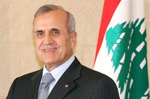 PRESIDENT LEBANON MICHEL SLEIMAN