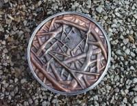 Copper Repousse Wall Art - Artist, Sculptor, Metalsmith