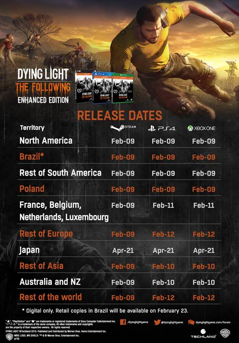 DLTFEE release dates infographic