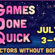 My Summer Games Done Quick Experience