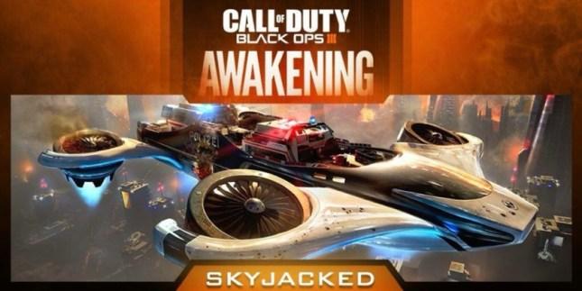 Call of Duty Black Ops 3 Awakening DLC SkyJacked