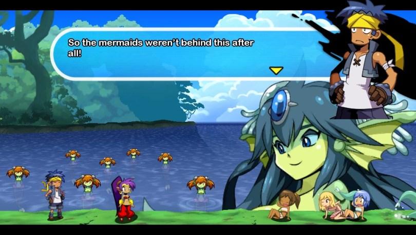 Shantae Mermaid Boss