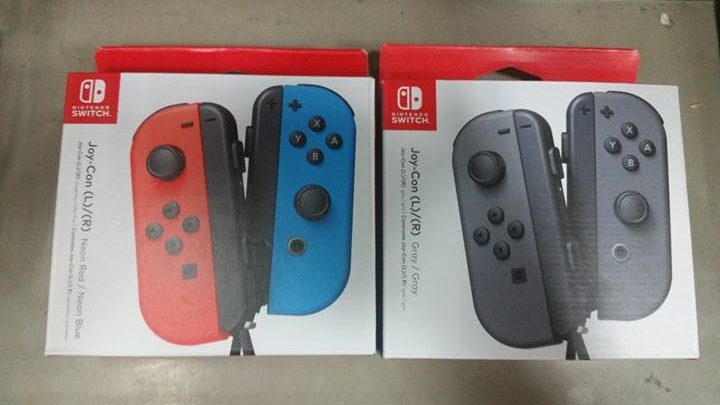 Switch accessories Joy Con Pair front