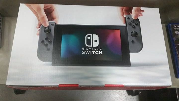 Switch accessories Unit front