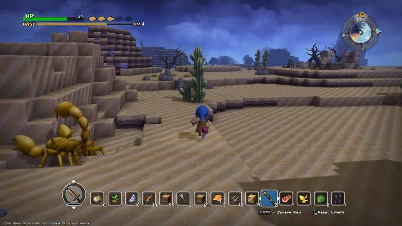 Dragon Quest Builders Desert Area