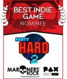 PAX Best Indie Game Nominee - Party Hard 2