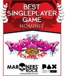 Best Single Player Game Nominee - Super Rude Bear Resurrection