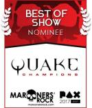 PAX Best of Show Nominee - Quake Champions