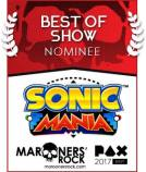 PAX Best of Show Nominee - Sonic Mania