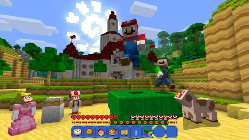 Minecraft Nintendo Switch Mario PACK
