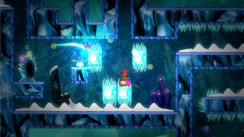 Super Rude Bear Resurrection Ice level