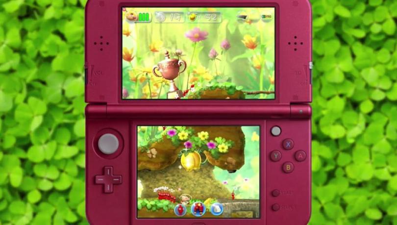 Hey Pikmin 3DS shot