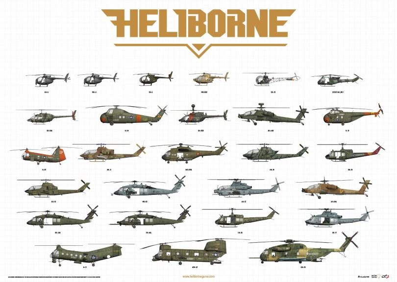 Heliborne NATO helicopters