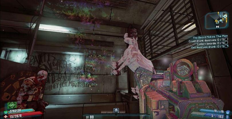 Borderlands 2 Commander Lilith DLC screen 1