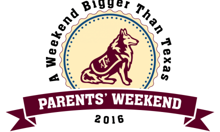 Get ready Ags, it's Parents Weekend!