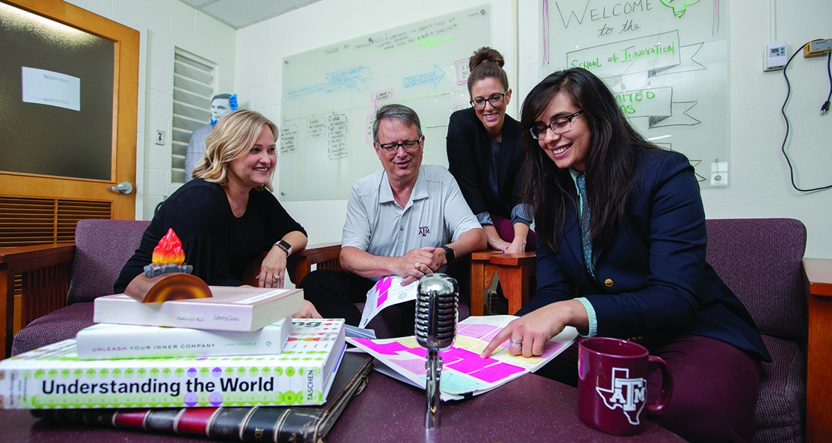Texas A&M's I-School Bringing New Opportunities for Student Leadership