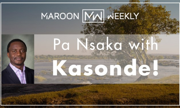 Pa Nsaka with Kasonde!