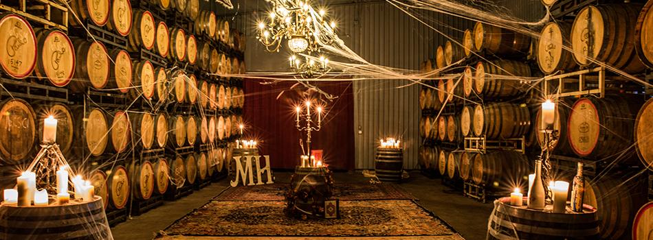 Messina Hof's Spooky Cellar Tour