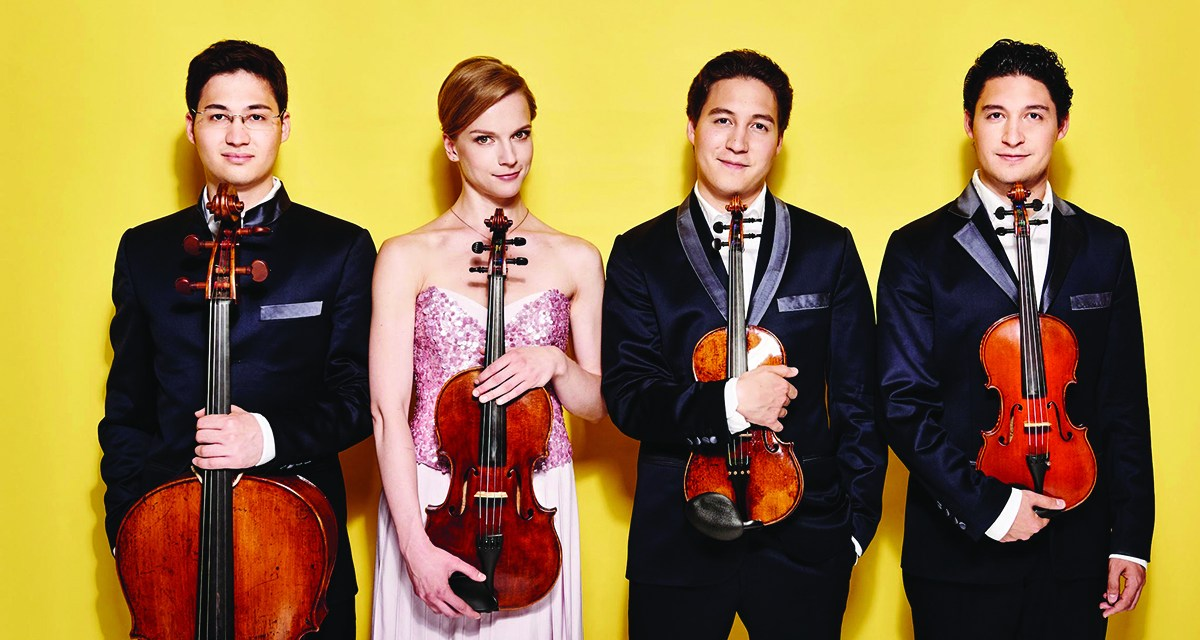 Spring into String with The Schumann Quartet