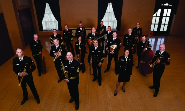 United States Navy Band Comes to Town