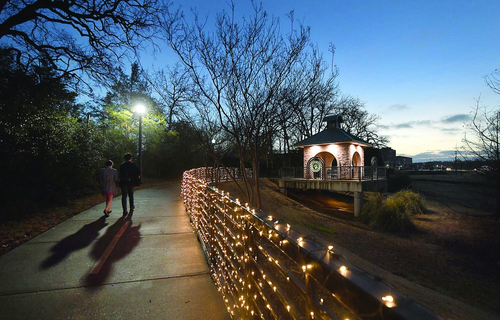Trail of Lights Date Night at Wolf Pen Creek