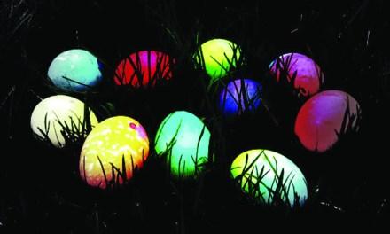 Glow in the Dark Egg Hunt at Wolf Pen Creek