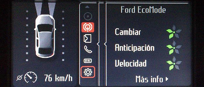 monitorizar la conducción para reducir el consumo de combustible