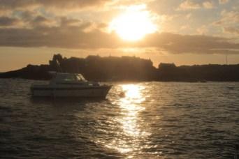 Un beau coucher de soleil à ..........