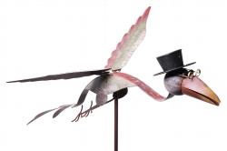 Wind figuur vliegende vogel-0