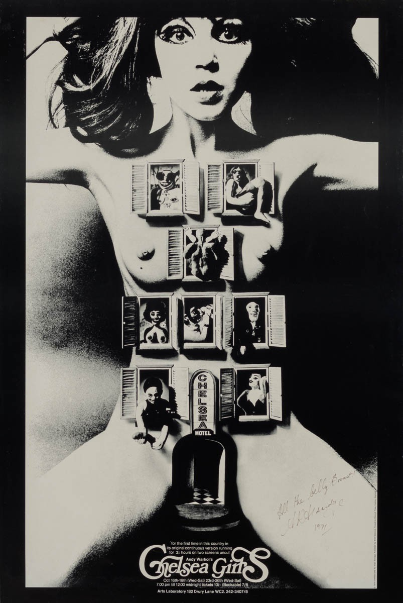 marquee poster chelsea girls