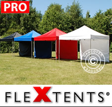 Pop up canopies - Flextents