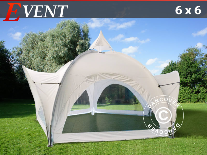 """Marquee """"Event"""" 6x6m"""